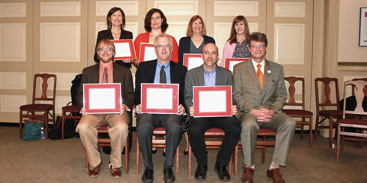 Distinguished Contributions to Undergraduate Education, 2016